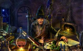 Ilustracion brujería