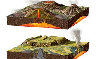 Ilustración terremoto